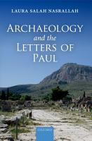 Archaeology and the Letters of Paul PDF