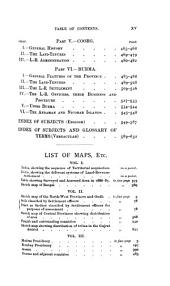 The Land-systems of British India: Volume 1