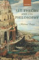Set Theory and Its Philosophy PDF