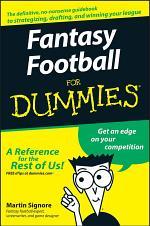 Fantasy Football For Dummies