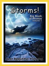 Just Storms! vol. 1: Big Book of Storm Weather Photographs & Pictures