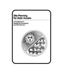 Site Planning for Solar Access