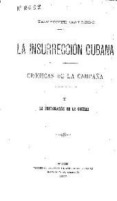 La insurrección cubana: Crónicas de la campaña