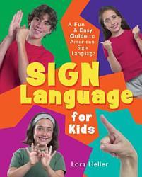 Sign Language For Kids Book PDF