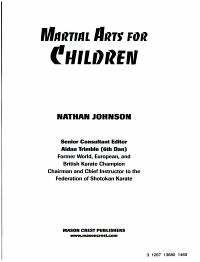 Martial Arts for Children PDF