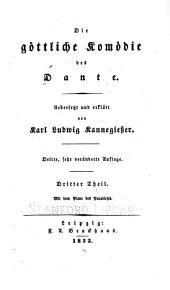 Die Göttliche komödie des Dante: Band 3