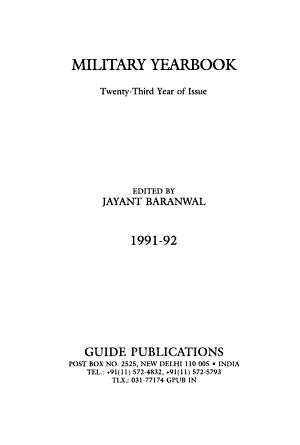 Military Year book PDF