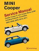 MINI Cooper  R55  R56  R57  Service Manual PDF
