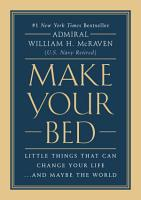 Make Your Bed PDF