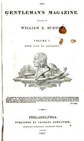 Burton's Gentleman's Magazine and American Monthly Review: Volume 1