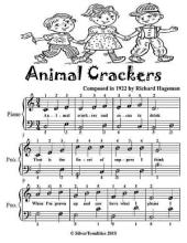 Animal Crackers - Easy Piano Sheet Music Tadpole Edition