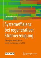 Systemeffizienz bei regenerativer Stromerzeugung PDF