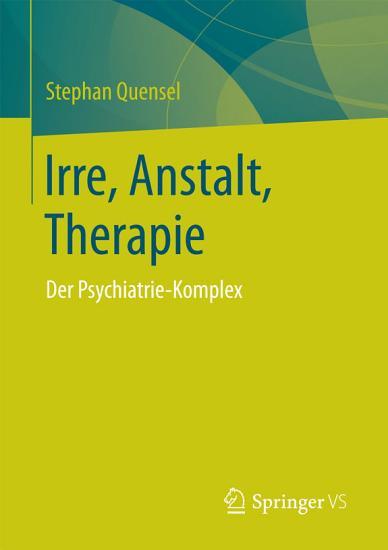 Irre  Anstalt  Therapie PDF