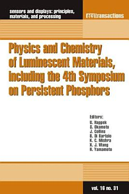 Physics and Chemistry of Luminescent Materials, including the 4th Symposium on Persistent Phosphors