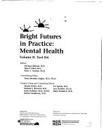 Bright Futures in Practice  Tool kit PDF
