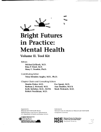 Bright Futures in Practice  Tool kit