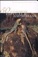 50 Common Reptiles   Amphibians of the Southwest PDF