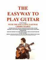 The Easyway to Play Guitar PDF