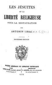 Les Jésuites et la liberté religieuse sous la Restauration