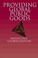 Providing Global Public Goods PDF