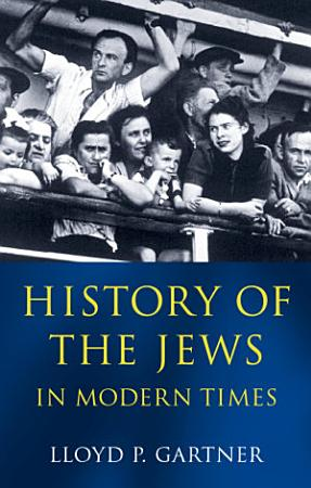History of the Jews in Modern Times PDF