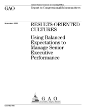 Resultsoriented cultures using balanced expectations to manage senior executive performance.