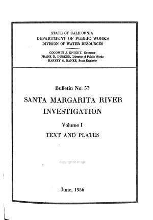 Bulletin - Division of Water Resources