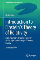Introduction to Einstein   s Theory of Relativity PDF