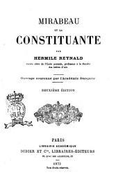 Mirabeau et la Constituante par Hermile Reynald