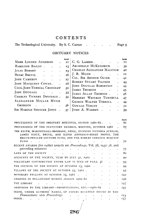 Year Book of the Royal Society of Edinburgh