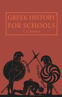 Greek History for Schools PDF