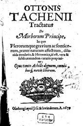 De morborum principe
