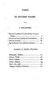 Essais de philosophie, de politique et de littérature: Volume2