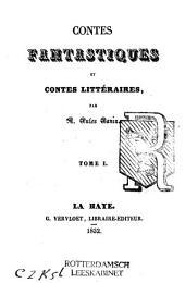 Contes fantastiques et contes littéraires: Volumes1à2
