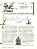 Old House Journal PDF