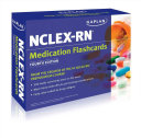 Kaplan NCLEX RN Medication Flashcards Book