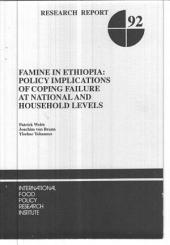 Famine in Ethiopia: Policy Implications of Coping Failure at National and Household Levels