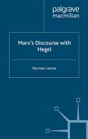 Marx s Discourse with Hegel PDF