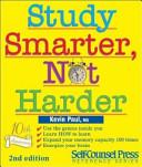 Study Smarter  Not Harder Book