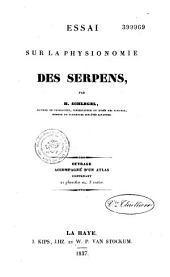Essai sur la physionomie des serpens: Volume2