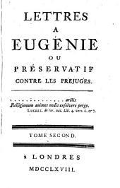Lettres à Eugénie: ou Préservatif contre les préjugés, Volume2