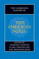 The Cambridge History of the American Novel PDF