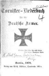 Tornister-Liederbuch für die Deutsche Armee