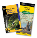 Best Easy Day Hiking Guide and Trail Map Bundle  Olympic National Park PDF