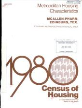 1980 census of housing: Metropolitan housing characteristics. McAllen-Pharr-Edinburg, Tex