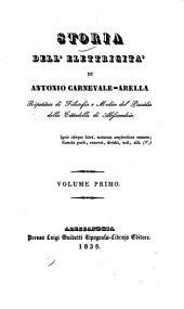 Storia dell' elettricita': Volume 1