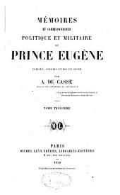 Mémoires et correspondance politique et militaire: Volume3