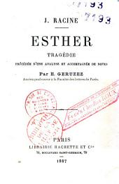 Esther: tragédie