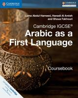 Cambridge IGCSE   Arabic as a First Language Coursebook PDF