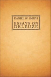 Essays on Deleuze Book